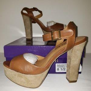 Madden Girl Naughtyy Platform Heels